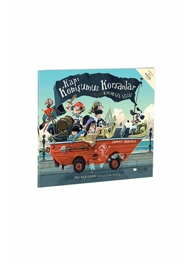 Panel Kırtasiye Kapı Komşumuz Korsanlar Jonny Duddle Redhouse Kidz Yayınları Renkli
